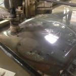 steel cutting water jet